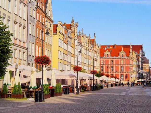 The market in Gdansk