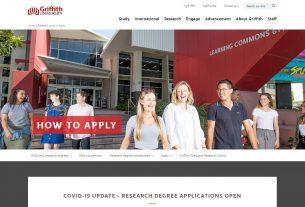 Apply - Griffith University
