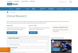 Clinical Trials & Medical Study Opportunities - UCLA Health