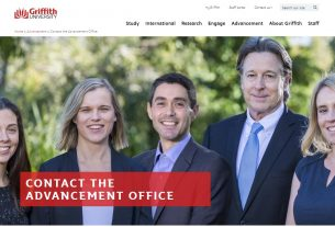 Contact the Advancement Office - Griffith University