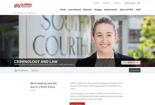 Criminology and law - Griffith University