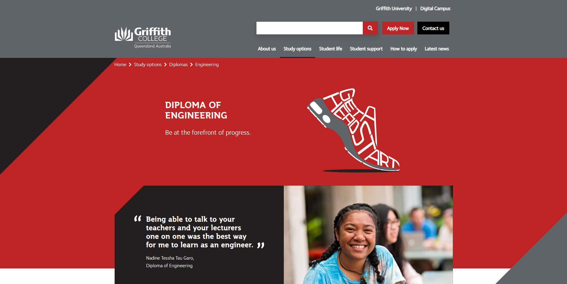Diploma of Engineering - Griffith College