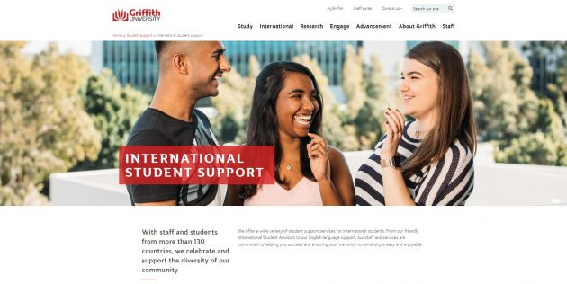 International student support - Griffith University