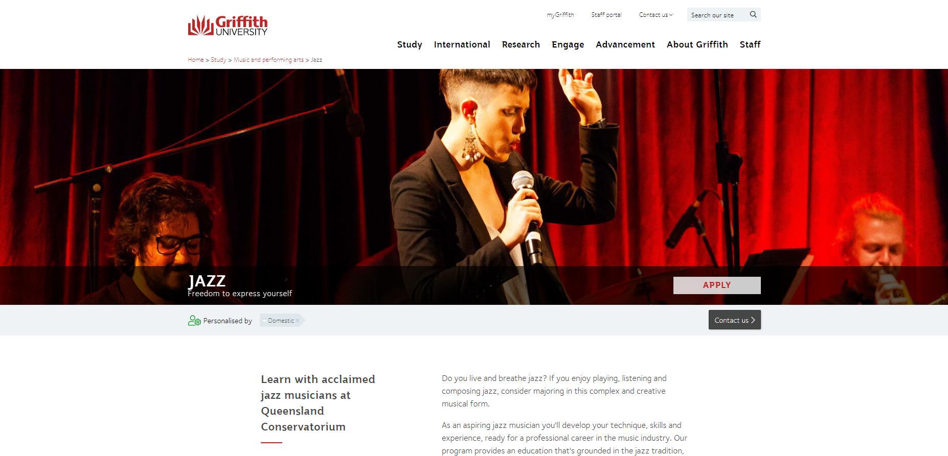 Jazz - Griffith University