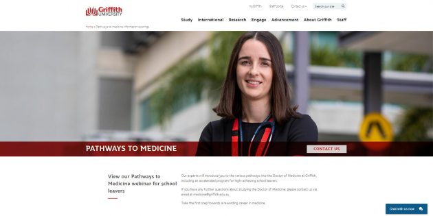 Pathways to medicine information evenings - Griffith University