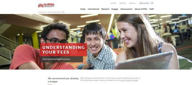 Tuition fees - Griffith University