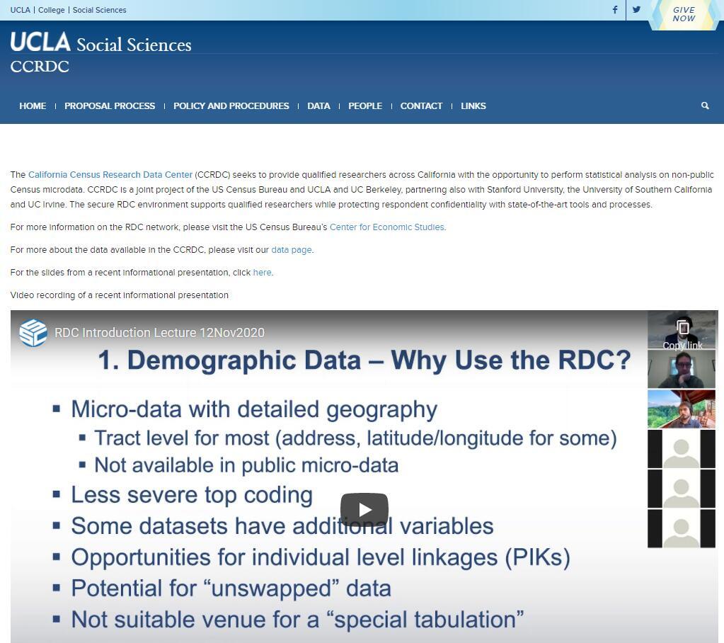 UCLA Social Sciences Computing