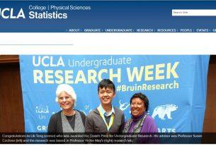 UCLA Statistics