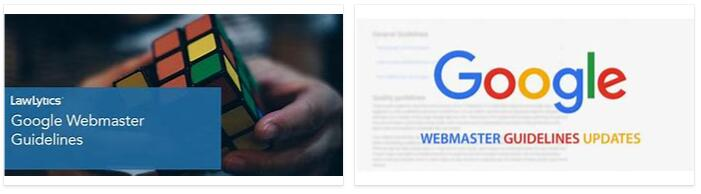 What are the Google Webmaster Guidelines