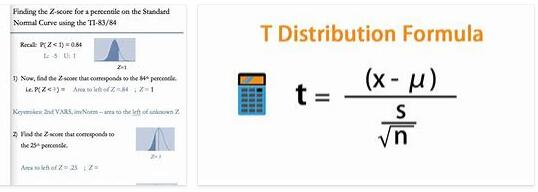 What is distribution calculation
