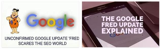 What is the Google Fred Update