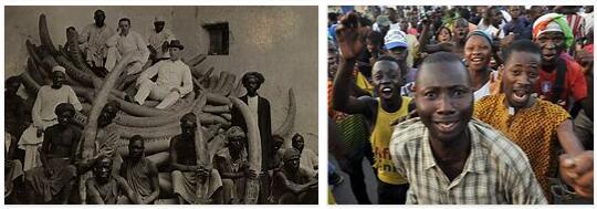 Ivory Coast History Timeline